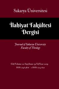 Journal of Sakarya University Faculty of Theology