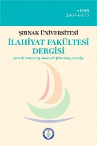 Şırnak University Journal of Divinity Faculty